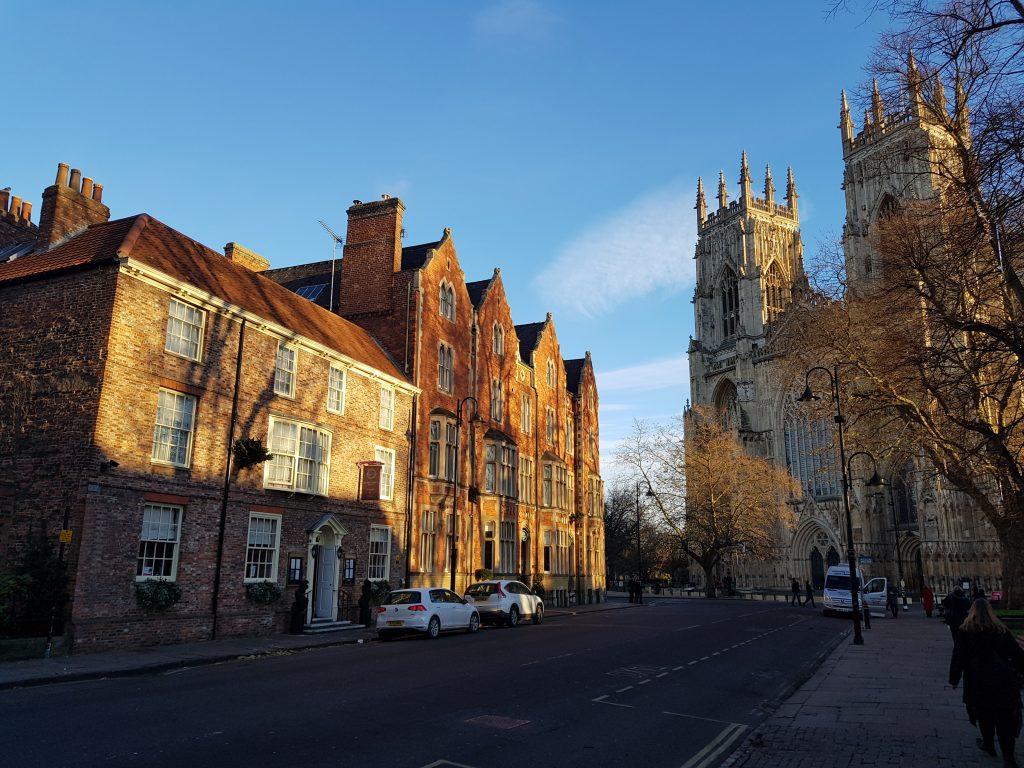Duncombe Place og York Minster