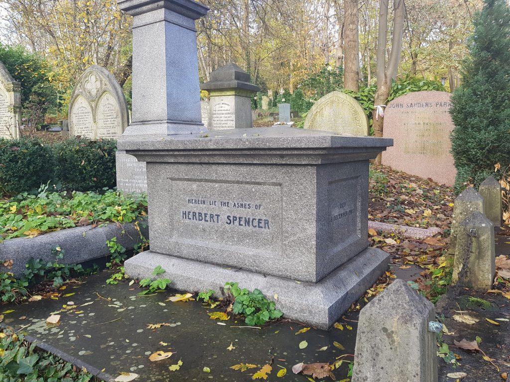 Herbert Spencers grav