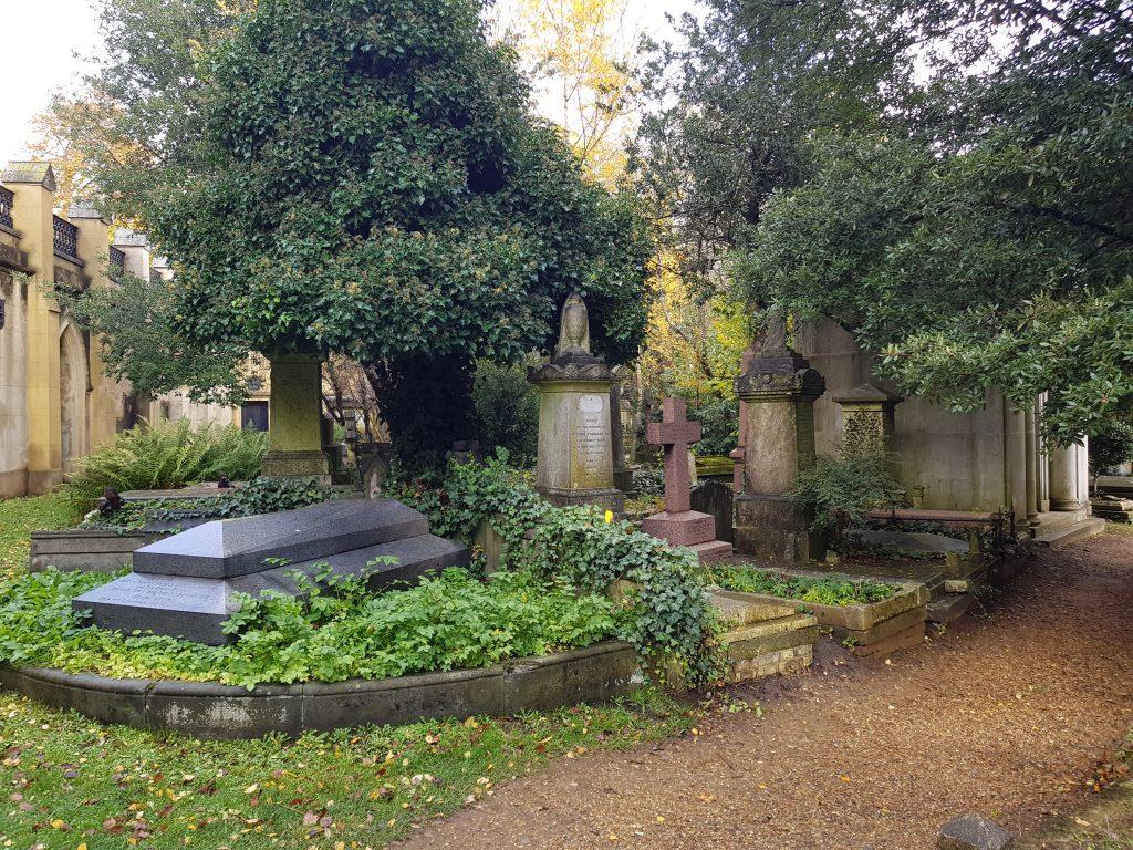 Gravmæler på Highgate-kirkegården