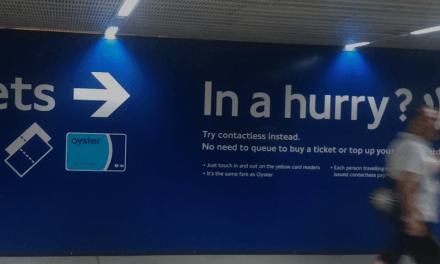 Kan man bruge kontaktløst dankort i londons undergrund?