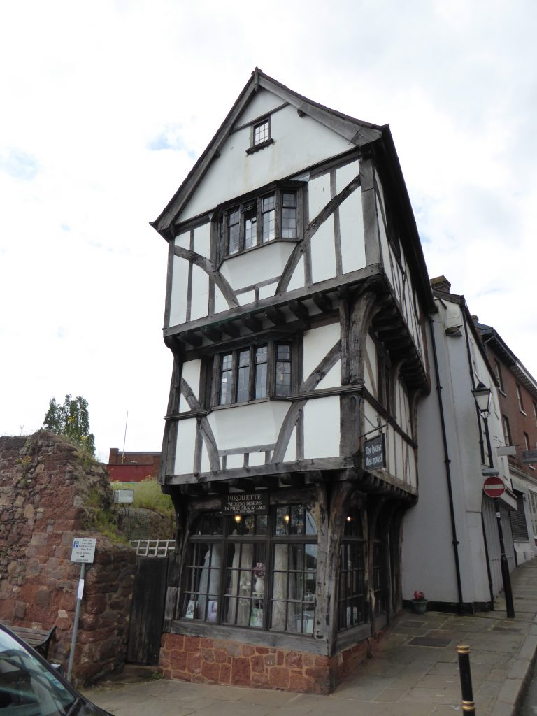 The House that Moved - 1400-tals hus i Exeter