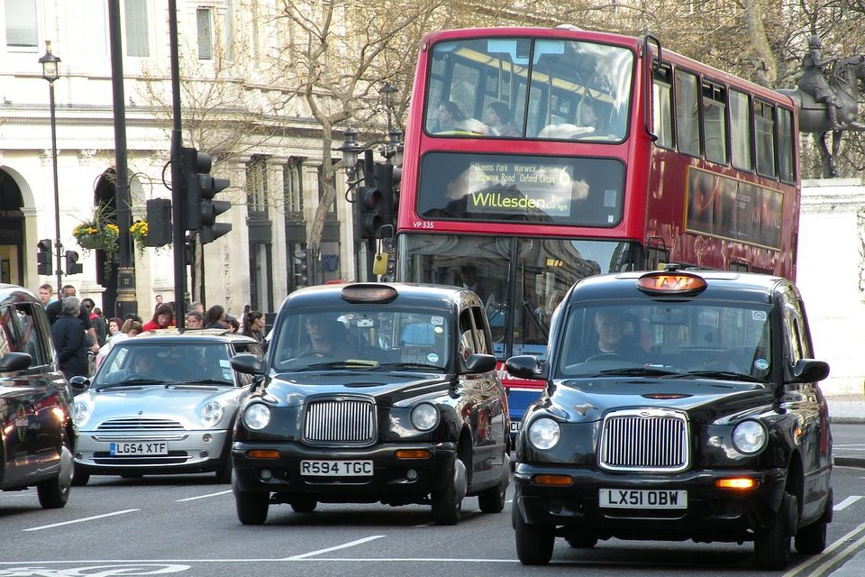 Alternativer til Uber i London